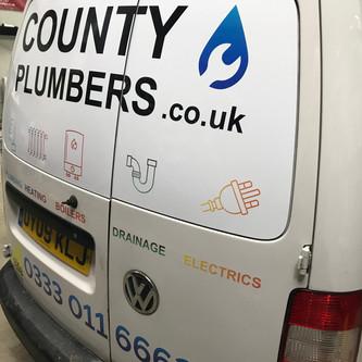 County Plumbing Vans