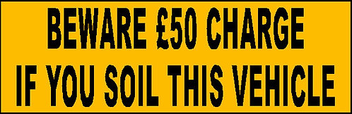 S14 - Soil Charge £50