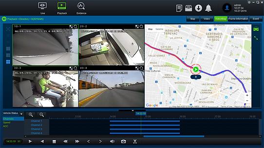 Taxi CCTV Playback