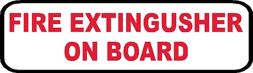 S76 - Fire Extingusher On Board