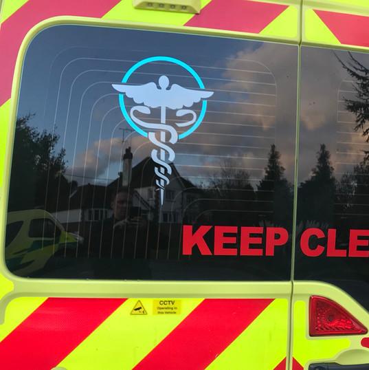 Ambulance signage