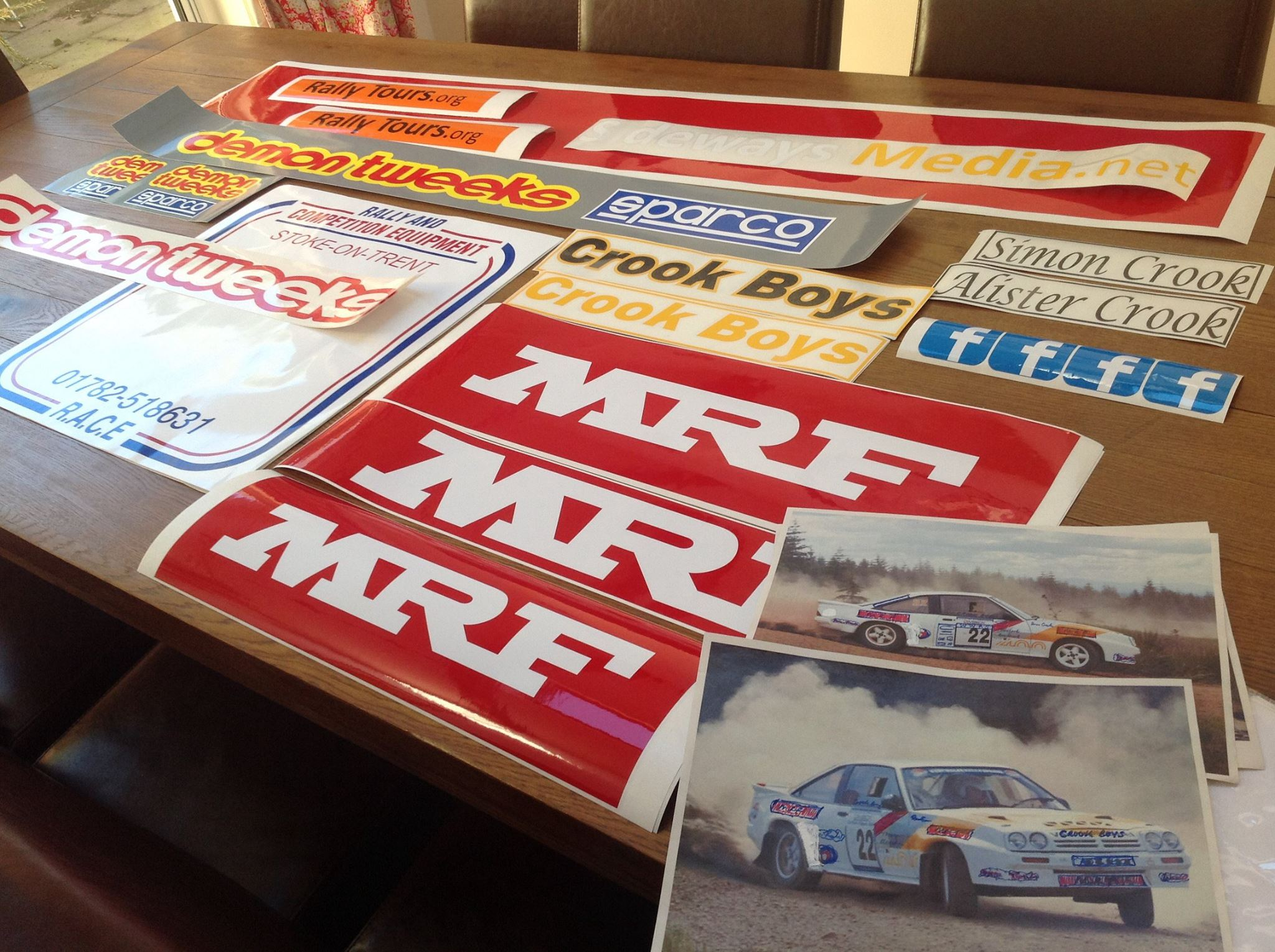 Car sticker manufacturing