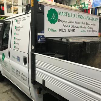 Martello Van Signs