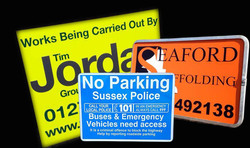 Free Standing Road Signs