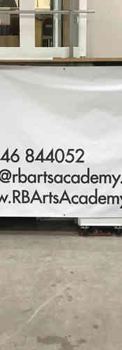 RB arts LARGE Unit banner