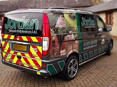 Vehicle Graphics and van signs specialists. Vinyl wrap