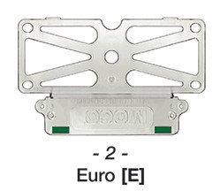 MOGO (EURO) Taxi Plate Holder