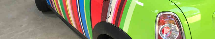 Mini Roadster Vinyl Wrap