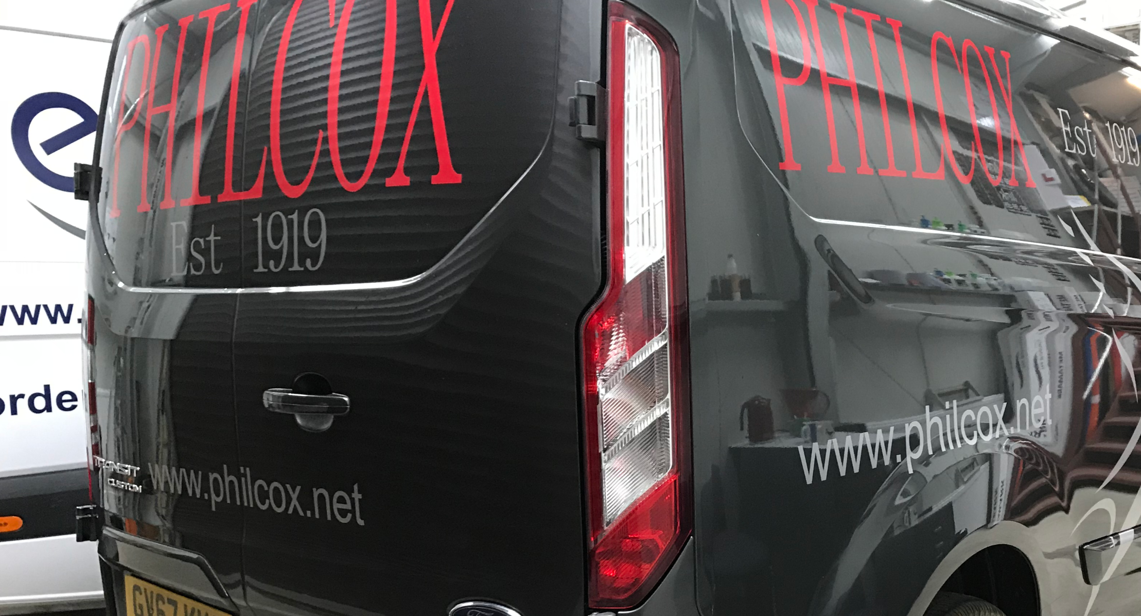 Cut Vinyl Van Signs