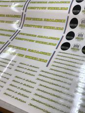 Bespoke label production