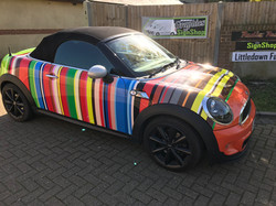 Printed Car Wrap Vinyl Printing