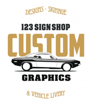 Custom Graphics for Cars and Vans information page logo