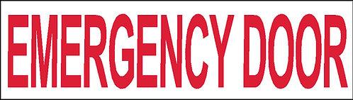 S27 - Emergency Door