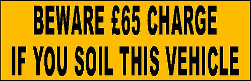 S15 - Soil Charge £65