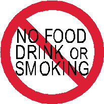 S2 - Small No Food, Drink or Smoking