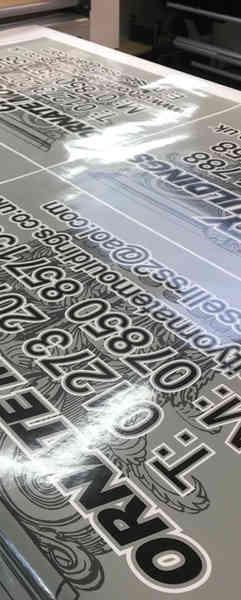 Scaffolding Signage Boards