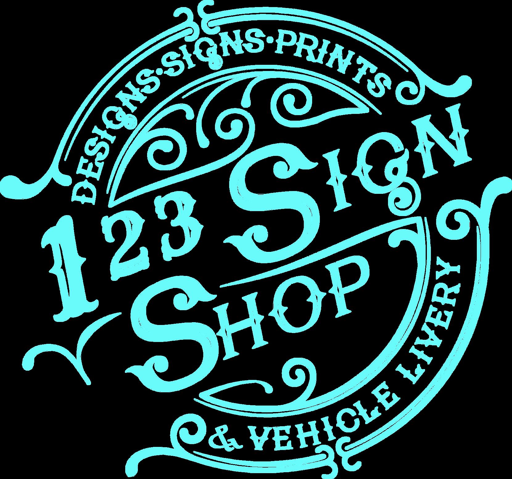 123 Sign Shop Lewes Logo 2021
