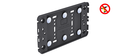 Small Magnetic Taxi Plate Holder