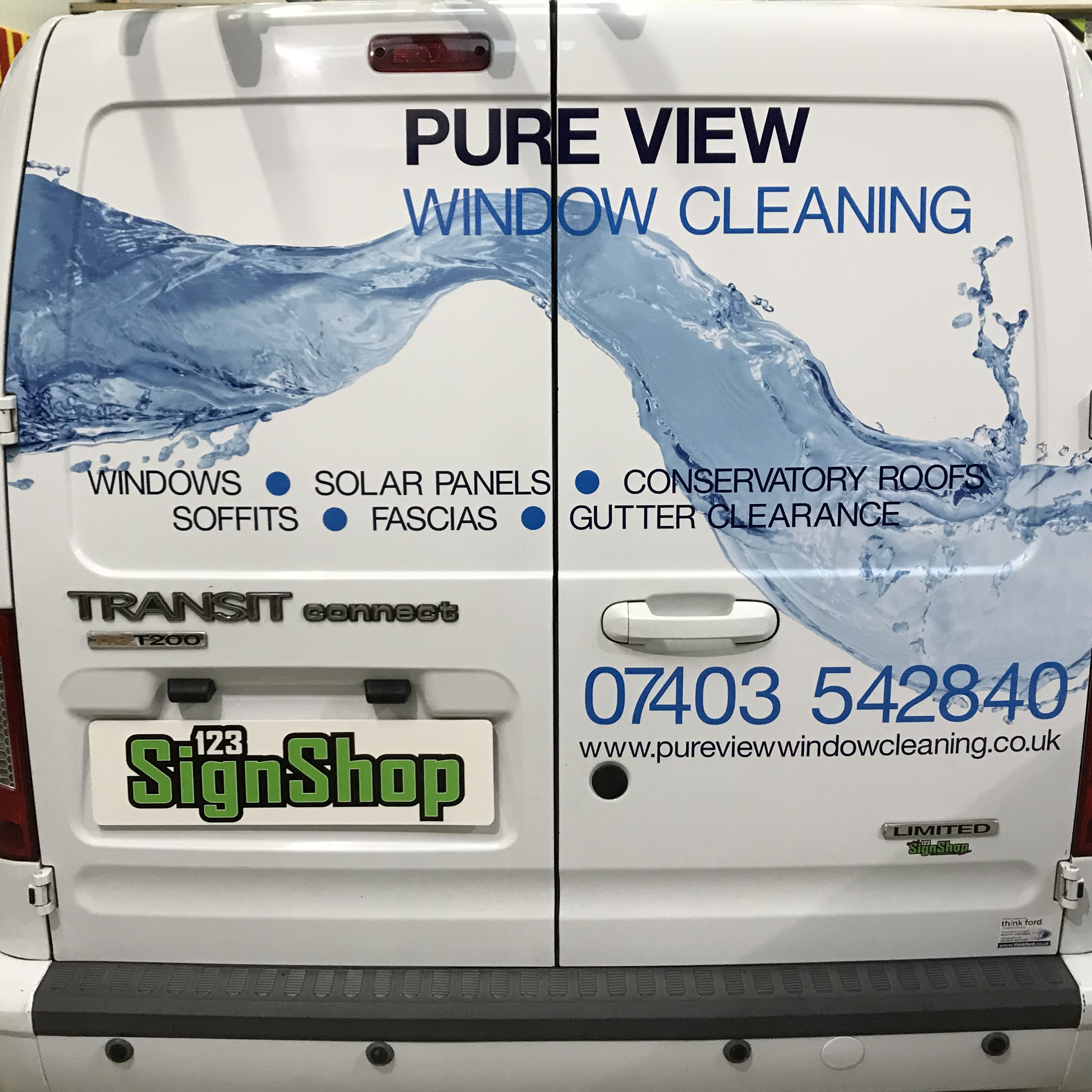 Van Part Wrap Graphics