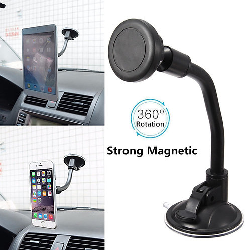 Magnetic Phone Holder With Suction Mount