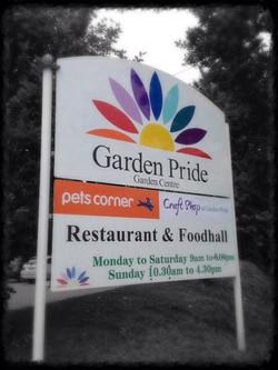 Garden centre Signs