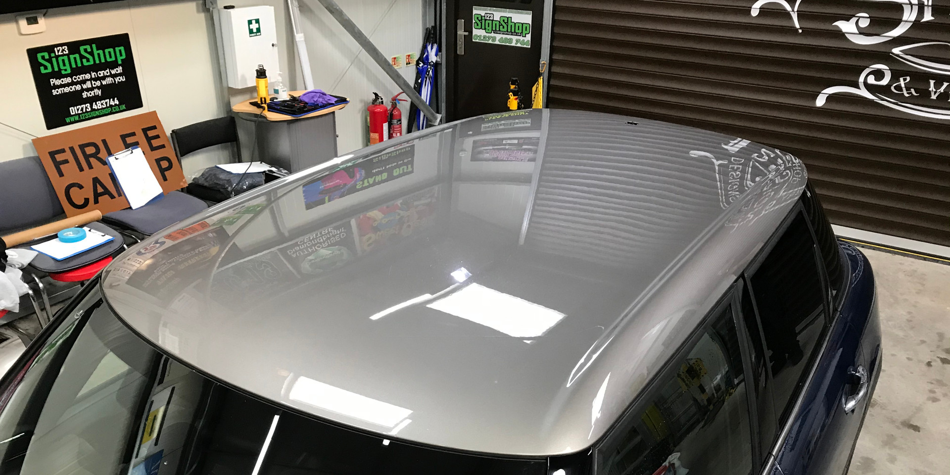 Mini in for Roof Graphics