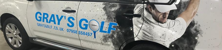 Grays Golf Vinyl Wrap Graphics