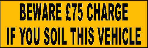 S16 - Soil Charge £75