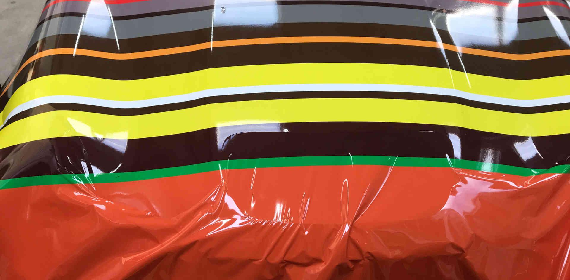 Mini Roadster Vinyl Wrap Day 1
