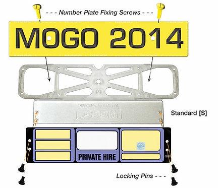 MOGO (Reverse Standard) Taxi Plate Holder