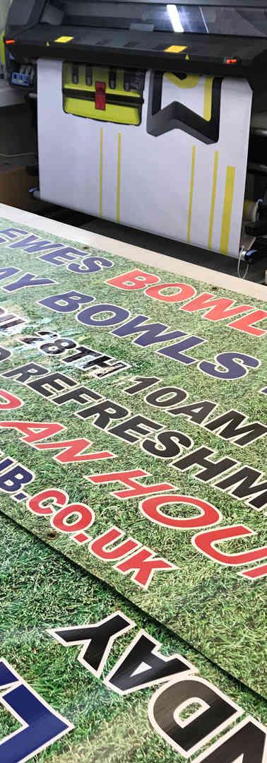 bowls club banners