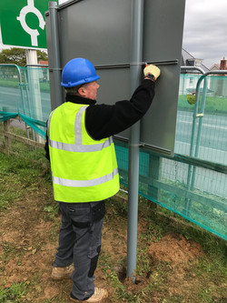 On Site Sign Installation