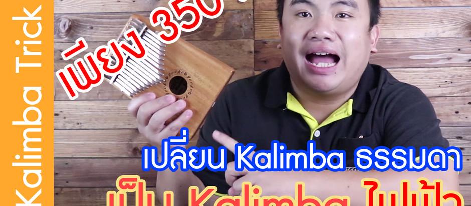 [ Kalimba Trick ] เปลี่ยน Kalimba ธรรมดาให้เป็น คาลิมบา ไฟฟ้า ในราคา 350 บาท