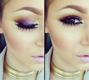 purple-smokey-makeup-style-2014-for-brow