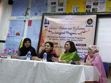 Panel discussion on Emotional learning and Identity crisis for teachers