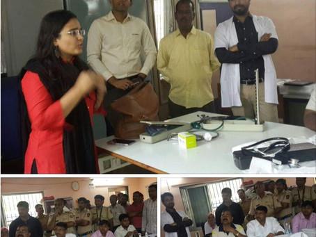 Stress Management at Vinoba Bhave Police Station