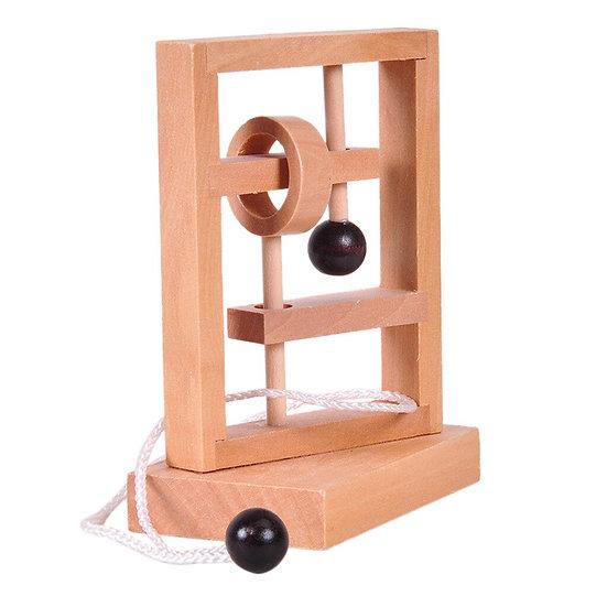 Classical Wooden Puzzle Set  Brain Teaser