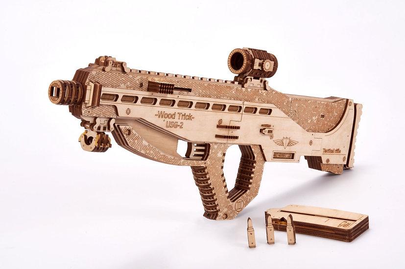 Wooden Assault USG-2 Puzzle