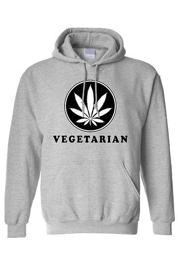Unisex Pullover Vegetarian Hoodie