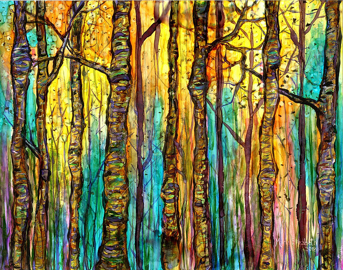 Blue Forest : Prints