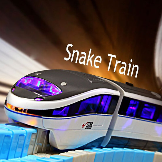 Gesture Control Snake Electric Train