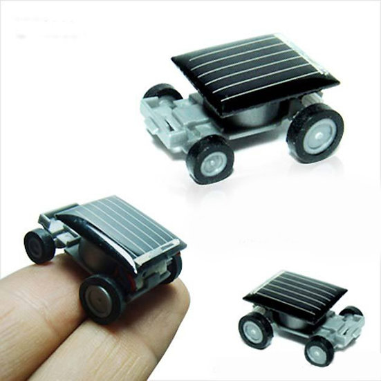 Mini Solar Powered Model Car
