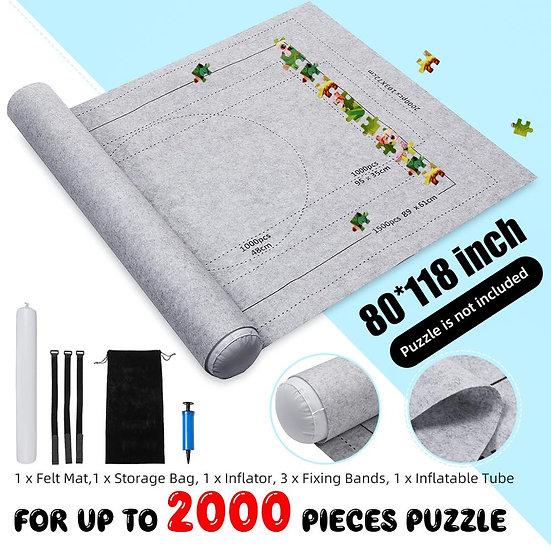80x118cm Jigsaw Puzzle Roll Up Felt Mat