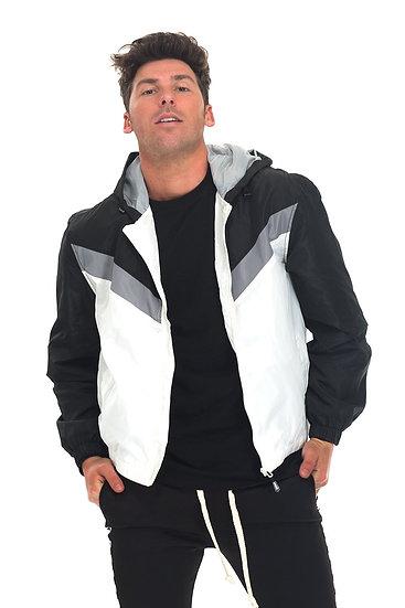 Black/White Lightweight Jacket
