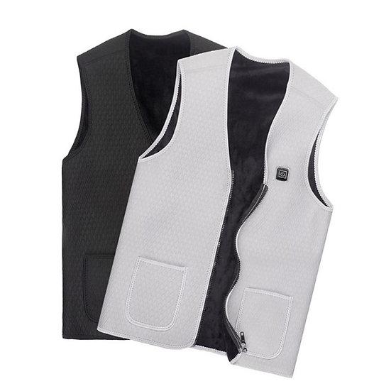 Outdoor USB Infrared Heating Vest  Winter Flexible