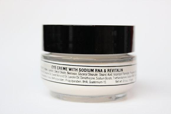 Eye Cream with Sodium RNA and Rivitalin