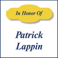 Patrick Lappman