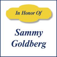 Sammy Goldberg