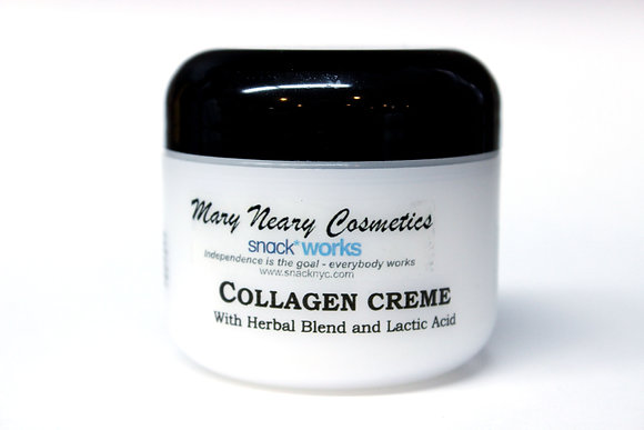 Collagen Créme w/ Herbal Blend & Lactic Acid -2 oz