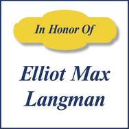 Elliot Max Langman